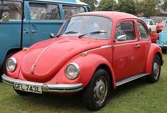 GFL 743L (Nivek.Old.Gold) Tags: 1972 volkswagen beetle 1303 s 1600cc