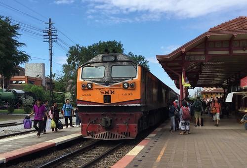 Train at Hua Hin