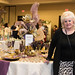 Roxann Taylor with her tablescape