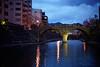 眼鏡橋夜景