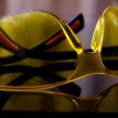 Macro Mondays - Safety (PaulE1959) Tags: macromondays safety goggles glasses yellow reflection macro closeup nikon d5200