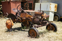 Old Tractor (Wildeye Photography) Tags: art nature oldtractor