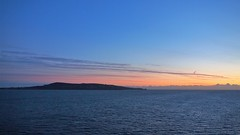 Howth Sunrise (n1el) Tags: dublin ireland leinster harbour sunrise dawn sky ship ferry irishsea