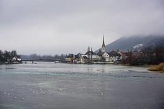 Stein am Rhein (RS_1978) Tags: brücke stadt sony sonyalpha7rii winter fluss gewässer acqua bridge city eau ilce7rm2 river rivière wasser water eschenz thurgau schweiz ch