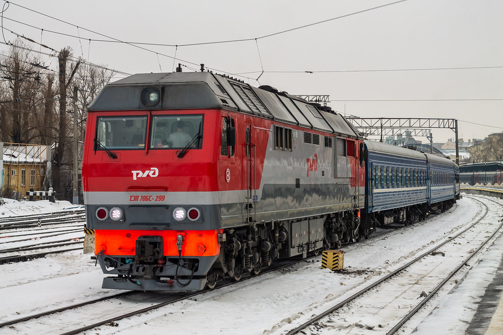 фото: ТЭП70БС-299, Санкт-Петербург - Минск, Санкт-Петербург-Витебский