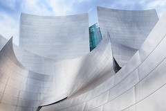 Concert Hall (gerla photo-works) Tags: waltdisneyconcerthall losangeles gehry architecture abstract architektur sculptures silver