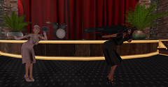 """You'll be """"unflappable"""" in Claire shoes! (Teddi Beres) Tags: second life sl heels shoes fashion style fun friend vintage 1920 flapper speakeasy dance"""