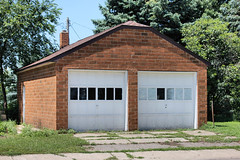 Fire Station (Former) - Porter, MN (The Bouncing Czech) Tags: minnesota portermn