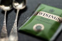 Brew (jillyspoon) Tags: brew macromondays twinings tea familysilver silver silverteaspoons hmm mm
