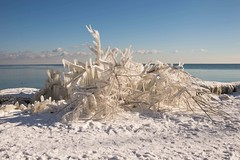 Art by nature (SONICGREGU) Tags: nikon park lakeontario lake ice snow january winter canada ontario mississauga