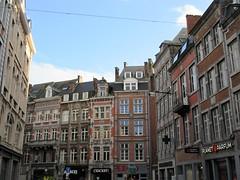 Houses of Rue de l'Ange, Namur, Belgium (Paul McClure DC) Tags: namur namen belgium belgique wallonia wallonie ardennes feb2018 historic architecture