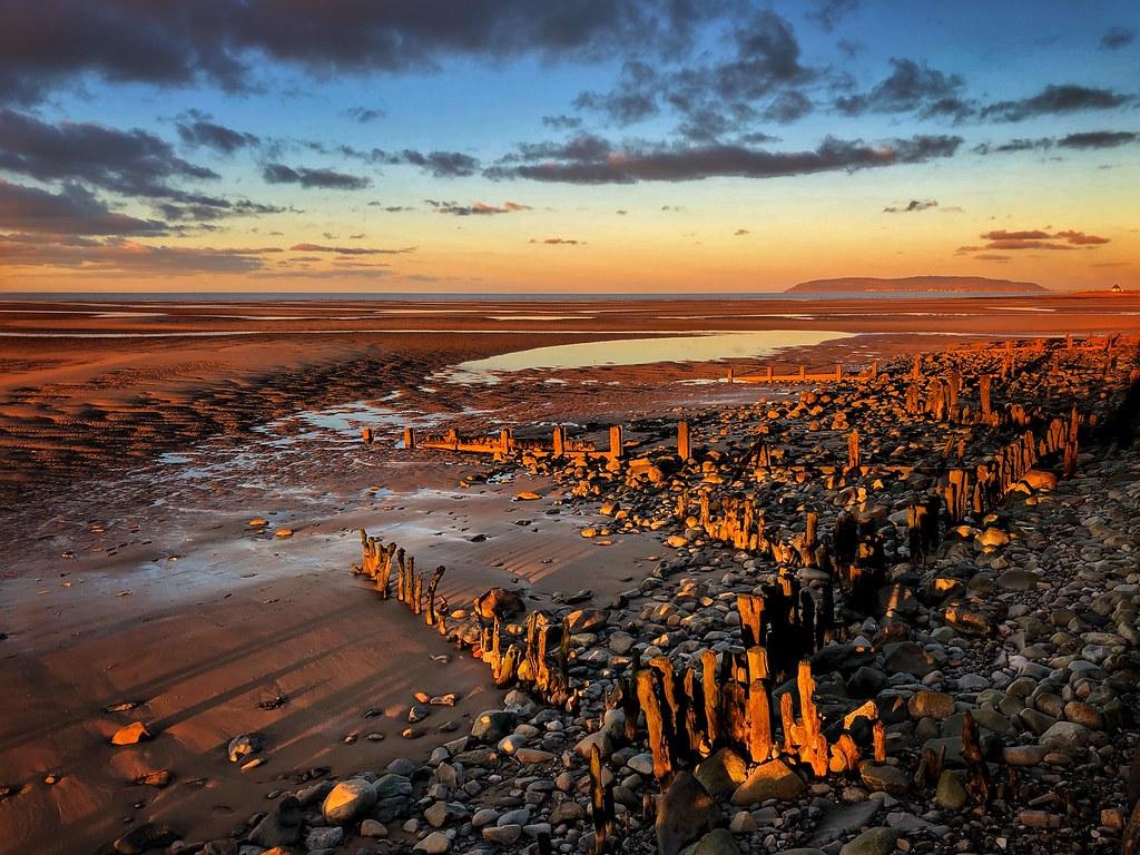 Llanfairfechan beach. Wales