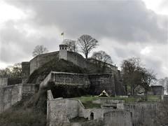 Citadelle from Sambre River walk, Namur, Belgium (Paul McClure DC) Tags: belgium belgique wallonia wallonie ardennes feb2018 namur namen castle architecture historic