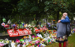 Memorial (M J Adamson) Tags: memorial mosqueshooting christchurchmosqueshooting christchurchmosqueterrorattacks christchurch canterbury nz newzealand people