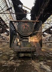 Red-Star-Train-Graveyard-5 (Symphony of Decay - Urbex) Tags: galaxy s7 building verlassen creepy