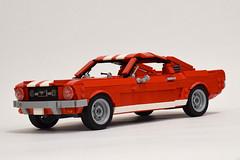 '65 Ford Mustang GT (2) (Dornbi) Tags: lego ford mustang gt 65 115