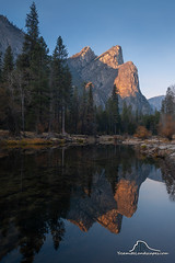 The Three Brothers (Darvin Atkeson) Tags: california yosemite national park halfdome elcapitan bridalveil forest sierra nevada mountains clouds rest valley canyon glacier darv darvin lynneal atkeson yosemitelandscapescom