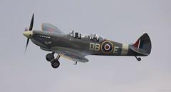 Supermarine Spitfire IX(T) NH341 G-CICK Lee on Solent Airfield 2018 (SupaSmokey) Tags: supermarine spitfire ixt nh341 gcick lee solent airfield 2018