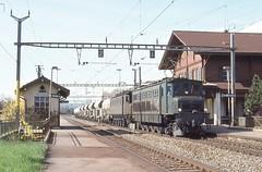 1993-03, CFF, Roche (VD) (Fototak) Tags: eisenbahn treno railway train cargo ae47 sbbcffffs switzerland 11017
