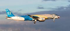 "PR-ZGQ Embraer Embraer E190-E2 (ERJ-190-300 STD) ""Profit Hunter"" (Niall McCormick) Tags: dublin airport eidw aircraft airliner dub przgq embraer e190e2 erj190300 std profithunter"