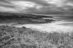 Storm Diana at Bovisand (Jonathan Goddard1) Tags: pentax k1 fullframe plymouth devon westcountry sea water longexposure ndfilter nd filter neutraldensity landscape monochrome blackandwhite bnw