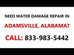 Water damage repair Adamsville, Alabama AL #833-983-5442 (bennett.onmarket) Tags: water damage repair adamsville alabama al 8339835442