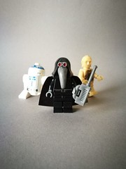 Garindan (Long-Snoot) (Lewis Kiwi) Tags: lego starwars custom minifigure customminifigure tatooine imperialspy garindan kubaz longsnoot r2d2 c3po moc legomoc