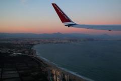 Leaving Alicante, March 22nd 2018 (Southsea_Matt) Tags: eifvz norwegianairshuttle boeing 7378jp canon 80d march 2018 spring aviation windowseat windowview dy2441 d82441 alicante elcampello alc leal spain