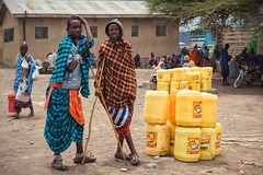 All God's People (u c c r o w) Tags: colorful colors blue red yellow maasai arusha tanzania africa african portrait people uccrow village urban children teenagers kids young love portre outside