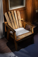 CFL-20181202-0008-W (Chi Fung Leung) Tags: bigbear snow chair wooden