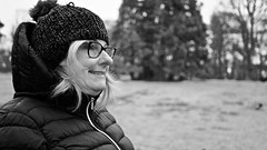 DSC00617 (Alan Findlay) Tags: blackandwhite portrait winterimage sigma glasgow 30mm humanity people