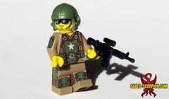Combat Armor (Saber-Scorpion) Tags: lego minifig minifigures moc brickarms fallout fallout4 fallout76 combatarmor postapoc postapocalyptic