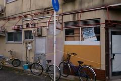 20181116_RX_00290 (NAMARA EXPRESS) Tags: street house bicycle vehicle daytime autumn fall cloudy outdoor color mikuni osaka japan sony rx0 dscrx0 carlzeiss tessar t 424 namaraexp