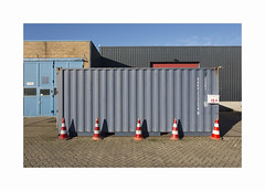 ** (ha*voc) Tags: canon6d canon1740mm urban industrial corrugation abstraction haarlem silence empty mundane patterns
