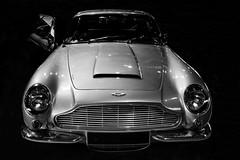 Aston Martin (Seb BAUDIN) Tags: nikon d7000 morbihan bretagne brittany breizh ouest motors festival 2018 aston martin noir et blanc black white monochrome voiture ancienne classic car sébastien baudin