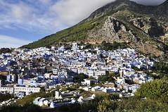 Chefchaouen view (MikyAgo) Tags: mikyago micheleagostini agostini nikon d90 2018 marocco maroc morocco africa trip travel viaggio ontheroad chefchaouen blu blue cittàblu bluecity chaouen chawen xauen bluepearl