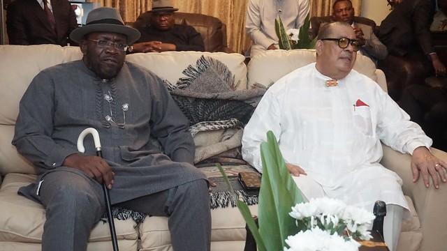 HSDickson- His Excellency At  The Birthday of Chief Falowei. November 2018