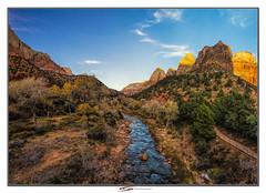 Virgin river, Zion, Utah (Suvrangshu) Tags: suvrangshughoshphotography suvghoshphotography canon5dmarkiii sigma1224mm zionnationalpark zionnarrows narrows landscape utah virginriver