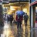 Rainy Charing Cross Road