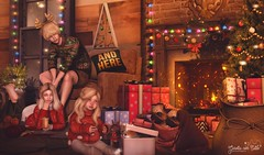 Christmas Night ♥ 1408 (♡ Belinha Aquila ♡) Tags: photocontesttheowl the owl wrong garotascomestilo randommatter blackbantam taketomiwest halfdeer bleich collabor88 dura foxcity kalopsia osmia soy thearcadegacha theepiphany theowl trompeloeil