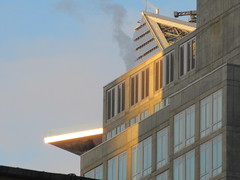2018 December Christmas Hudson Yards Tower Balcony 8417 (Brechtbug) Tags: 2018 december christmas morning light few moments later virtual clock tower from hells kitchen clinton near times square broadway nyc 12252018 new york city midtown manhattan winter holiday weather building breezy cloud hell s nemo southern view tuesday