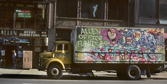 NY in the 80s 643 (stevensiegel260) Tags: newyork 1980s graffiti truck street