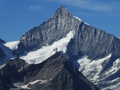 D20053.  Mountain Peak. (Ron Fisher) Tags: schweiz suisse svizzera switzerland kantonwallis valais cantonvallese europa europe zermatt mountain mountainpeak snow diealpen thealps swissalps alpessuisses schweizeralpen alpisvizzere gornergrat panasonic lumix tz90 panasoniclumixtz90 compactcamera