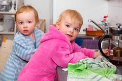 Kitchen work (Matilda Diamant) Tags: kitchen work rusalka family sophia mark twins children grandchild grandson granddoughter