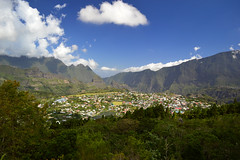 Cilaos depuis la Roche Merveilleuse, Reunion Island (Olivier Nery 974) Tags: cilaos cirque paysage îledelaréunion indianocean océanindien 974 reunionisland