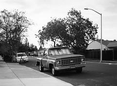 Santa Clara (bior) Tags: 6x45cm mediumformat 120 ilford fp4 fp4plus ilfordfp4 santaclara pentax645nii car truck pickuptruck
