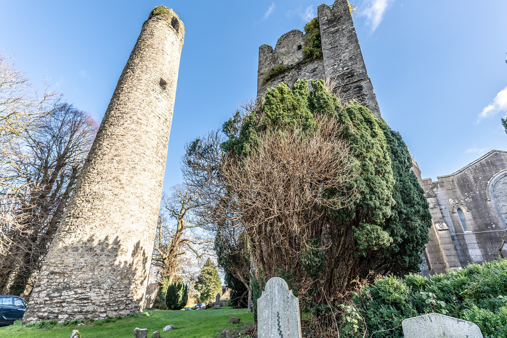 ST COLUMBA'S CHURCH AND GROUNDS IN SWORDS COUNTY DUBLIN [CHURCH ROAD]-148784
