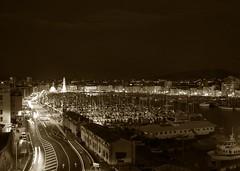 Marseille (Maxofmars) Tags: marseille marsella marsiglia france francia europe europa port puerto harbour ville city ciudad citta night noche