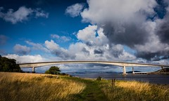sky-bridge (Phil-Gregory) Tags: nikon d7200 tokina1120mmatx tokina 1120mmproatx11 1120mm 1120mmf2811 1120mmproatx skyebridge isleofskye scenicsnotjustlandscapes scotland highlands sky blue bridge kyleoflochalsh