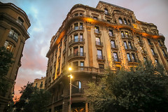 Barcelona (rebeccahspear) Tags: barcelona spain catalona night sunset golden hour canon m3 city break november 2018 mirrorless architecture buildings travel